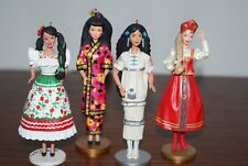 Hallmark Keepsake Ornament Dolls of the World Collector's Series (2 Signed by Ar