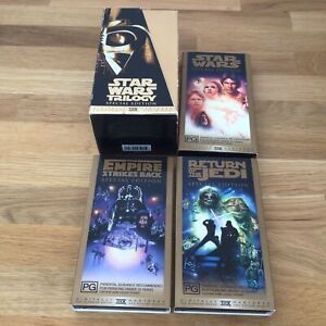 1997 Video Set. Star Wars Trilogy Special Edition Digitally Mastered.  #452