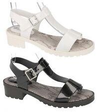 Sandali e scarpe casual bianco Piatto (Meno di 1,3 cm) per il mare da donna