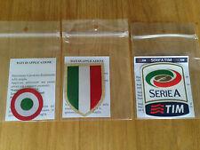 2015-16 JUVENTUS Serie A & Scudetto & Coppa Italia STILSCREEN Badge Patch Set