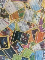 50 Random Pokemon Bulk lot + 5 Holo / Reverse Holo cards