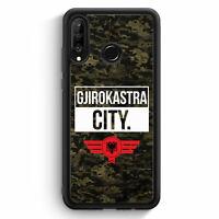 Gjirokastra City Camouflage Albanien Huawei P30 Lite Silikon Hülle Motiv Desi...