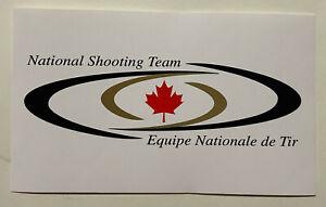Canada National Shooting Team sticker