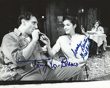 Tony Lo Bianco & Saundra Santiago signed A View 8X10 Original Still Photo