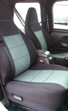 Jeep Wrangler 1997-02 Custom TJ Neoprene Front Set Seat Cover Gray tj127front