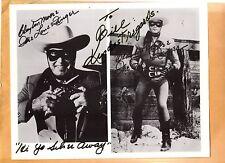 Clayton Moore-signed photo-10 - JSA COA