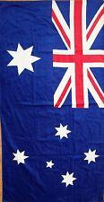BRAND NEW AUSTRALIA AUSTRALIAN FLAG BEACH/BATH COTTON TOWEL CHRISTMAS GIFT