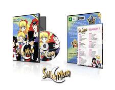Sailor Moon Season 1 Sailor Moon R Season 2 English Collection (DiC Version)