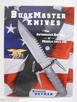 Buck 184 185 Survival Knife History The Buckmaster Book Richard Neyman ~ Signed