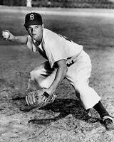 Brooklyn Dodgers DON ZIMMER Glossy 8x10 Photo Baseball Print Poster