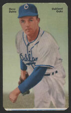 1952 Mother's Cookies PCL BB Card #15 - Dave Dahle