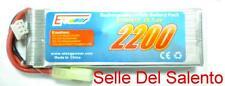 Batteria Ricaricabile LIPO 2200 mAh 7.4 battery Softair