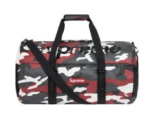 Supreme SS21 Duffle Bag Red Camo 🔥 Brand New In Package *CONFIRIMED ORDER*