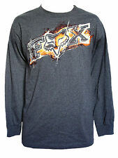 NEW FOX RIDERS RACING MOTO X MENS GUYS GRAPHIC T SHIRT CREW TOP TEE BLOUSE SZ M