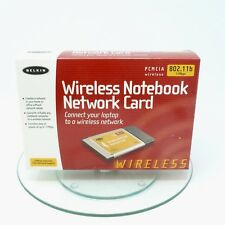 Belkin Wireless Notebook Network Card 802.11b 11Mbps Wireless