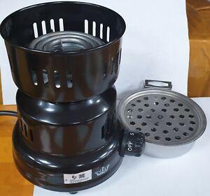 Electric Hookah Charcoal Burner Fast Burning Coal Starter Heater Multi Purpose