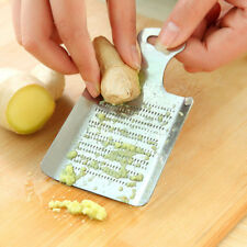 Practical Kitchen Ginger Wasabi Stainless Steel Garlic Grater Bento Mill Tool