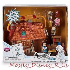 Disney Store Animators' Littles Beauty & the Beast Belle Mini Toy Doll Play Set