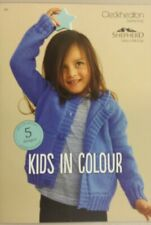 Kids in Colour 101 Cleckheaton - Knitting Crochet Sewing Patterns