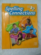 NEW Zaner-Bloser Spelling Connections Texas Grades 5 AND 6 Student Textbooks