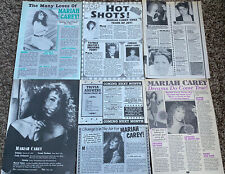 Mariah Carey Teen Magazine Clippings Articles Young 1990's