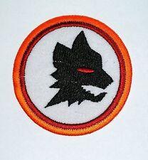 Wolf Head Black iron-on Wild Animal Embroidered Patch / Logo Foxhound