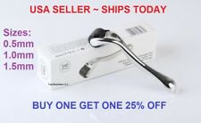 540 Titanium Premium Micro Derma Roller Acne Scars Wrinkles 0.5mm 1mm 1.5mm USA