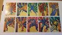 1994 Fleer Marvel Universe SUSPENDED ANIMATION 10 card insert set  BONUS GIFT