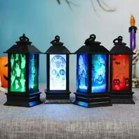 Bunt Glühend Nacht Leuchttürme Lampe LED Lampen Halloween Atmospheres Dekor
