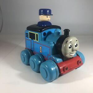 Thomas the Train Friends Sir Topham Hatt Push DOWN and GO Toys Tomy VTG 1997