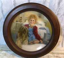 Vintage Knowles Annie And Sandy Framed Limited Edition Collectors Plate