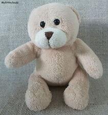 Doudou peluche ours ROLAND GARROS PARIS/blanket security Baby Beige velours