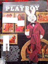 PLAYBOY Magazine Jaunuary 1971 Holliday Ann. Issue[centerfold: Liv Lindeland]. V
