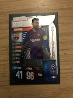 MATCH ATTAX 2019/20 LIONEL MESSI SILVER LIMITED EDITION LE5S MINT