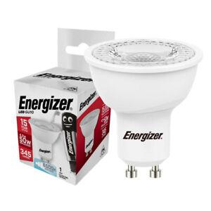 LED GU10 Spotlight Bulb Energizer 5w (=50w) 36° beam, Daylight White 6500k 240v