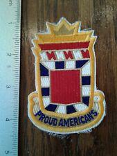 "Patch -  32nd Field Artillery ""Proud Americans"""