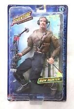 ULTRA ADVENTURE ACTION FIGURE: BOW HUNTER (NO G.I.JOE) BRAND NEW IN BLISTER, OS!