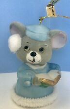 """Vintage Jasco """"Soft N Snoozy Chimers� Mouse Bell Ornament Taiwan"""