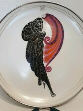 Beauty and the Beast Erte' Franklin Mint Sevenarts Collector Plate #Hb7316