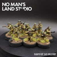 Pro Painted 28mm Bolt Action British (59th infantry) engineers  squad ×10
