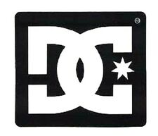 "DC SHOES STICKER ~ 2"" Shoe Co Logo Black & White Sticker Decal  * NEW *"