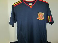 SPAIN   RFCF     vintage  2010  world cup   shirt    size   L