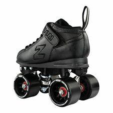 Zoom Roller Skates by Crazy Skates   Black Quad Speed Skates