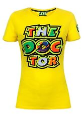 MAGLIETTA DONNA T-SHIRT WOMAN VR46 VALENTINO ROSSI THE DOCTOR ORIGINALE TG L