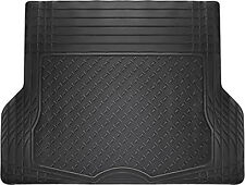 Trunk Cargo Floor Mats for Mercedes Benz Car SUV Van Truck Rubber Black Liners
