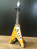 Dave Davies The Kinks Flying V Electric Miniature Guitar - Free Shipping in US