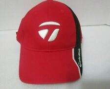 TAYLORMADE Red Tour Authentic Hat Cap ~ One Size Fits All ~ New