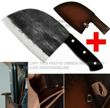 Hunters Serbian Chef Knife Steel Kitchen Knives Cleaver Forged By Master Art