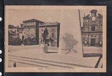 Cartolina Lugo Monumento a Francesco Baracca HF76