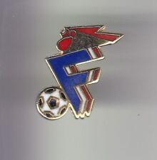 RARE PINS PIN'S ..  FOOTBALL SOCCER WORLD CUP FRANCE TEAM EQUIPE FFF COQ OR ~DY